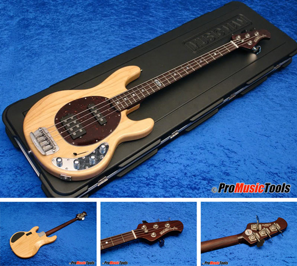 Music Man Stingray 4 HS Natural BFR Rosewood Neck Limited Edition