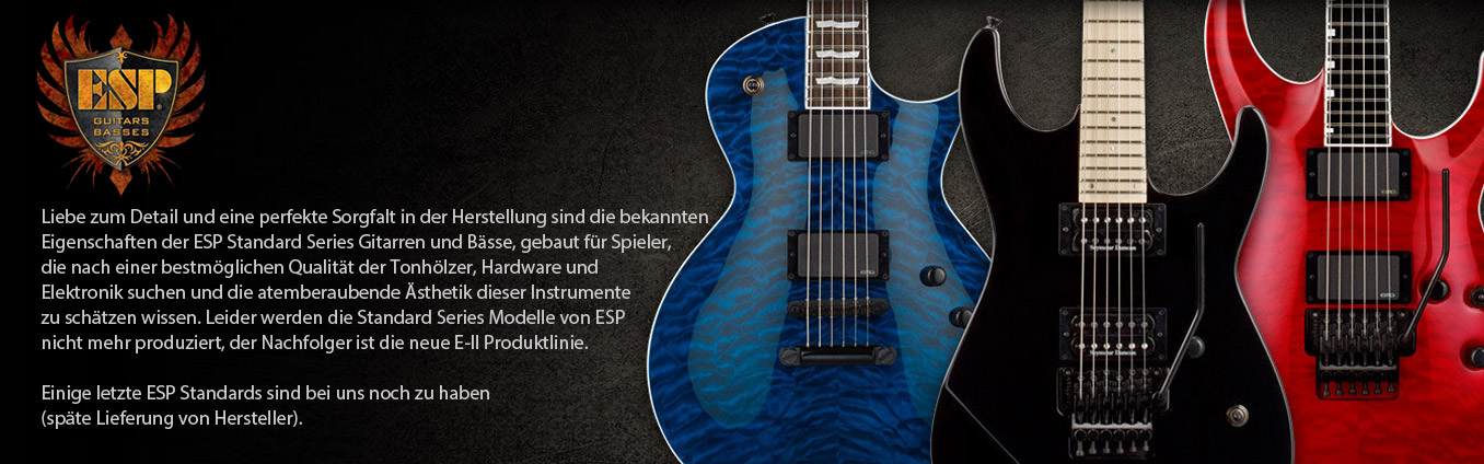 ESP Standard Series Guitars