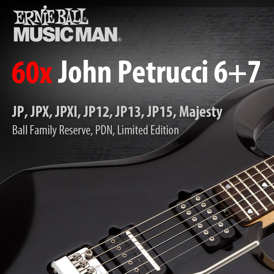 Music Man USA John Petrucci Signature Guitars