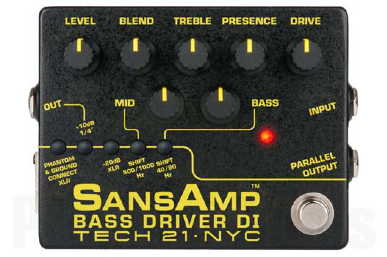 Tech 21 USA SansAmp Bass Driver D.I. V2 - b-stock (1x opened box)