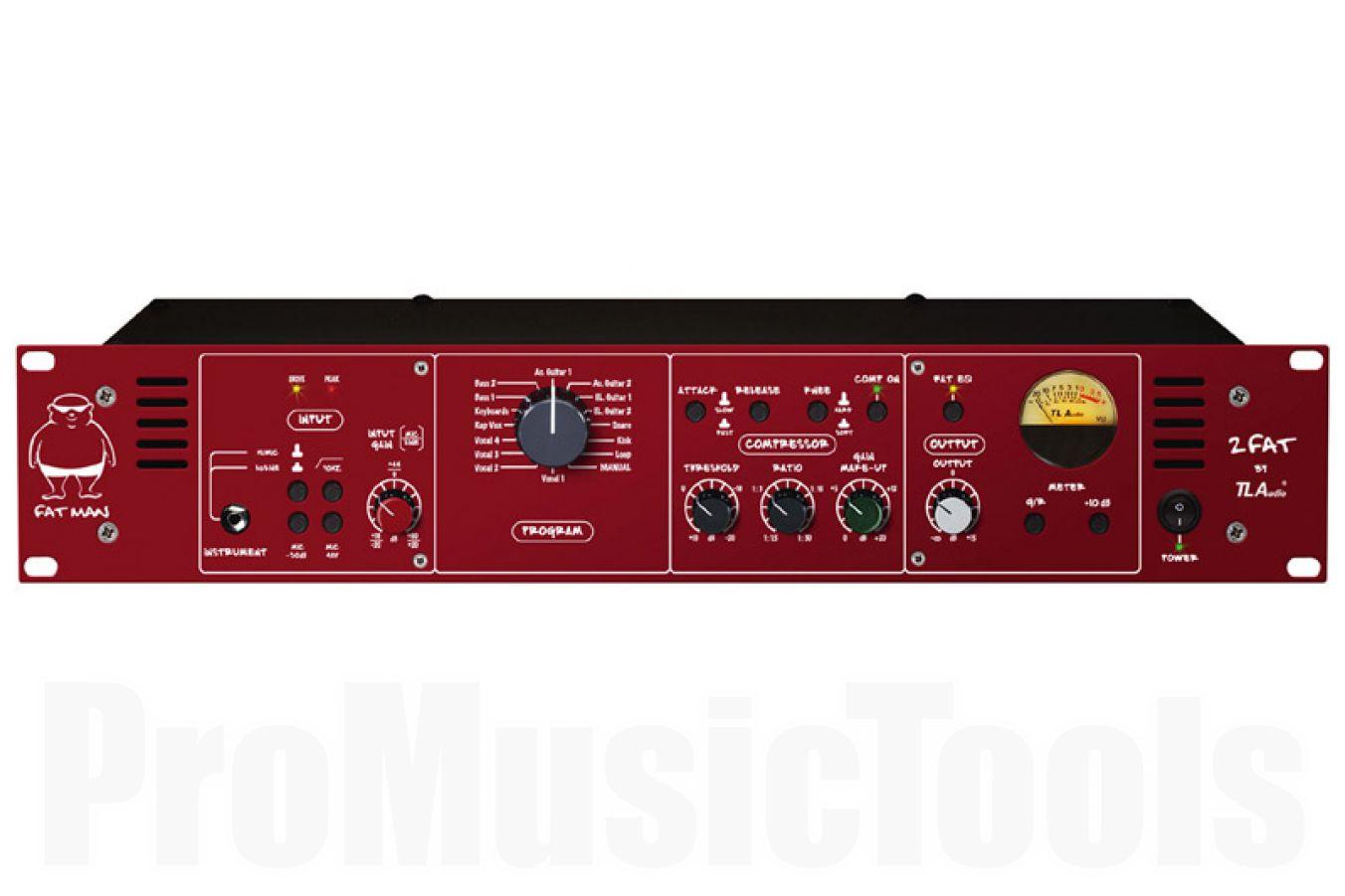 TL Audio 2 Fat - all-valve studio instrument preamp
