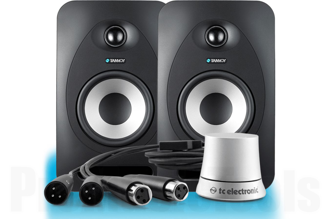 Tannoy Reveal 402 Active - PAIR BUNDLE SET incl. TC Electronic Level Pilot - b-stock (1x opened box)