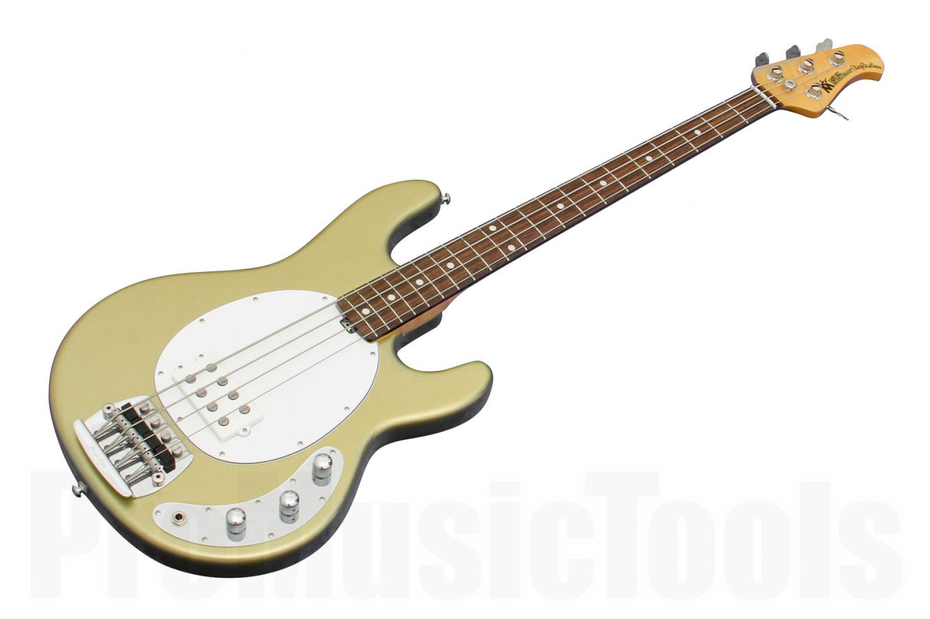 Music Man USA Classic Stingray 4 EG - Eldorado Gold RW Birdseye