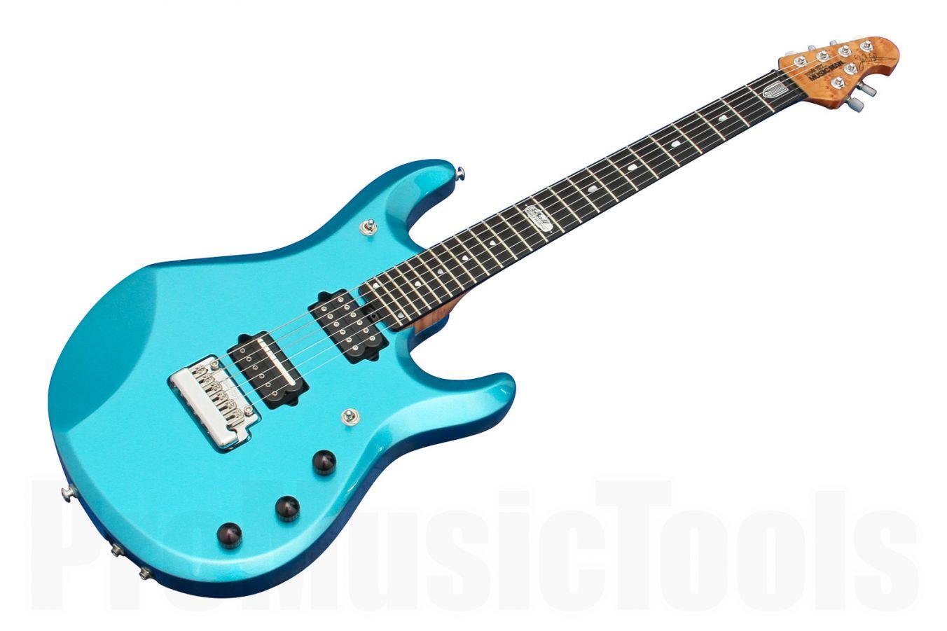 Music Man USA John Petrucci JP6 Piezo LE - BFR Aquamarine Pearl Roasted Neck Limited Edition