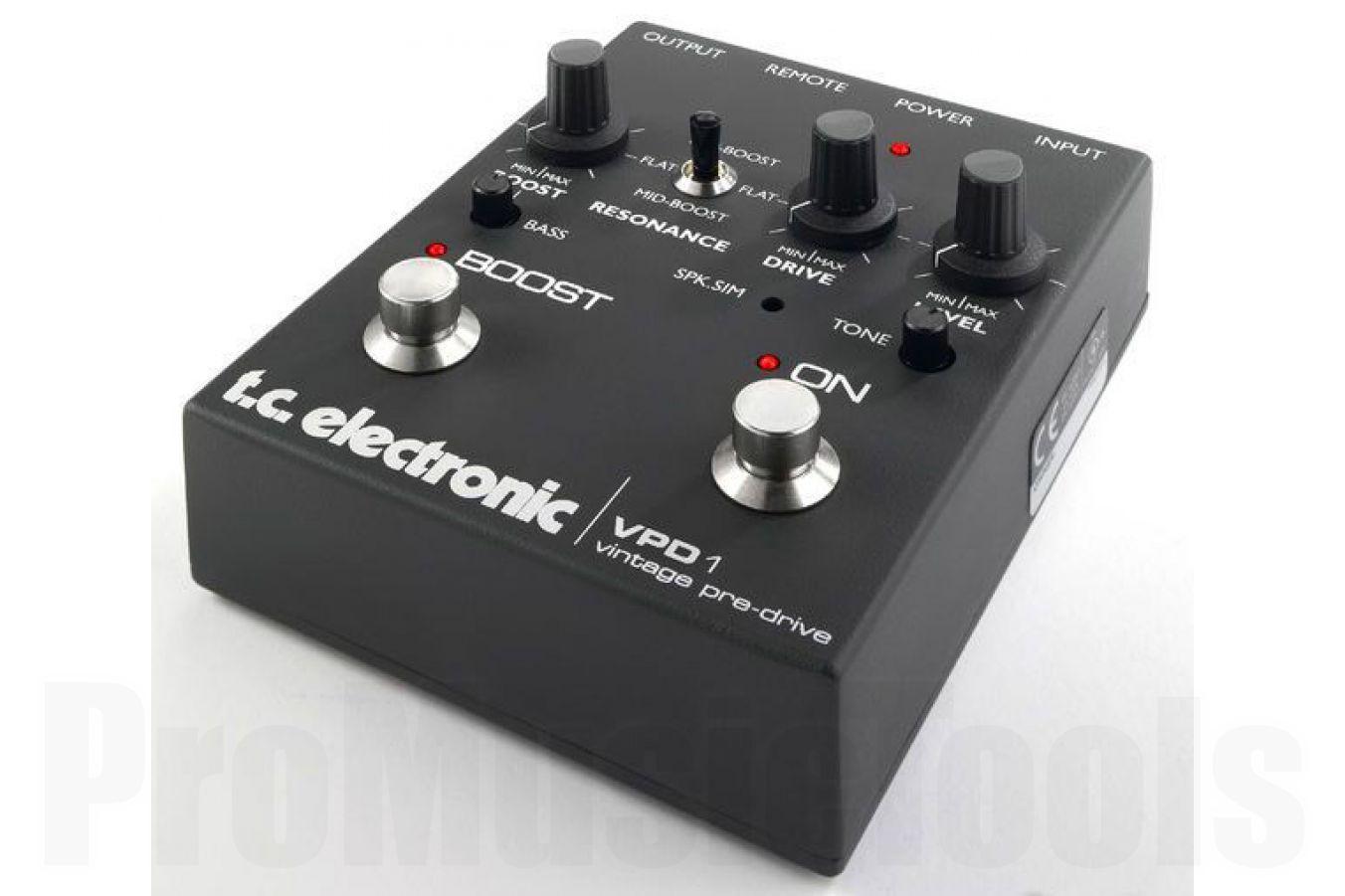 TC Electronic VPD1 Vintage Pre Drive - demo