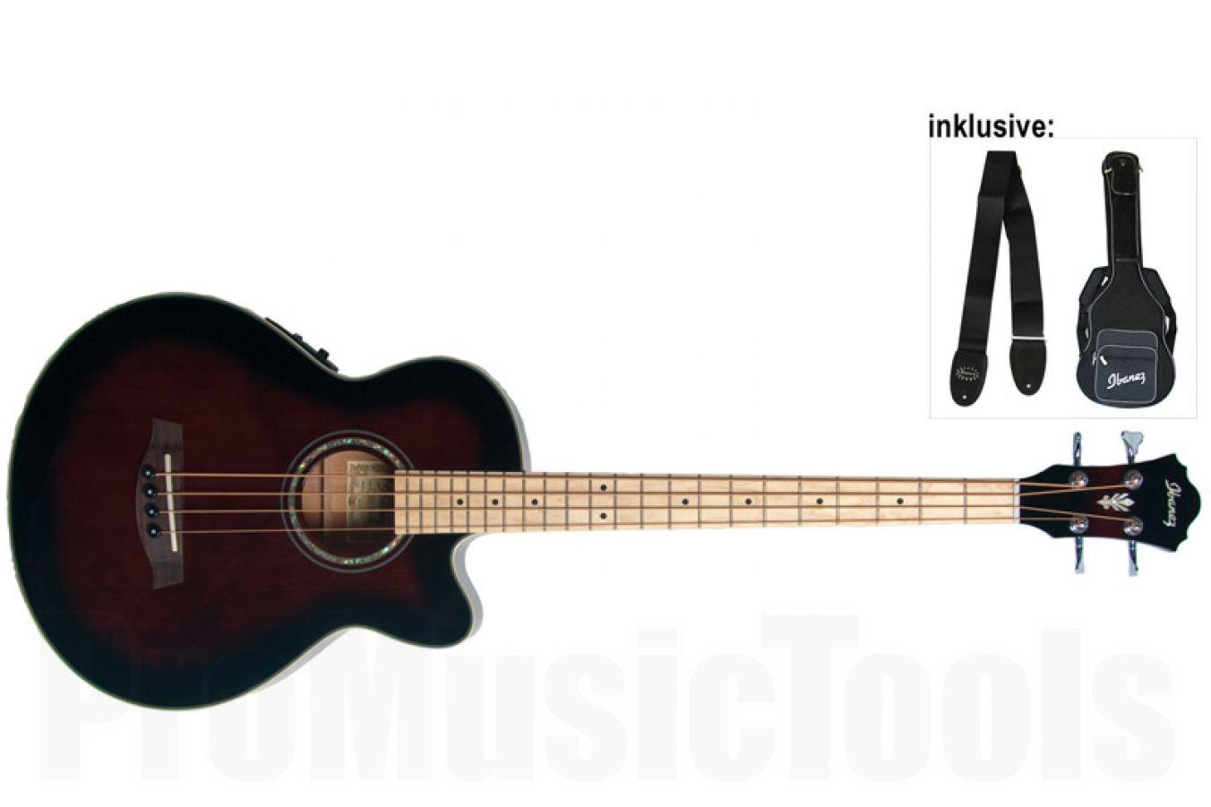 Ibanez AEB14ME DVS - Dark Violin Sunburst