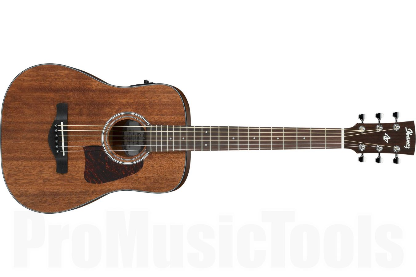 Ibanez AW54MINIGB OPN - Open Pore Natural - ¾ Acoustic Guitar - demo without bag