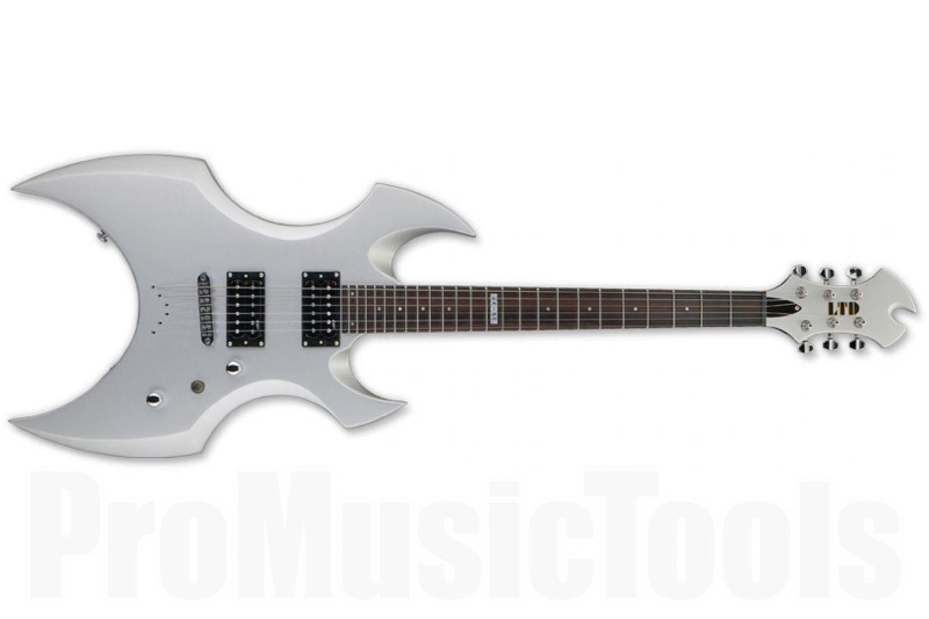 ESP Ltd AX-50 SS - Silver Satin