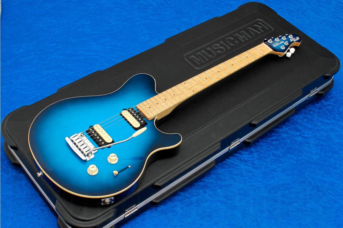 Music Man USA Axis Super Sport Trem BD - Blue Dawn MN MH