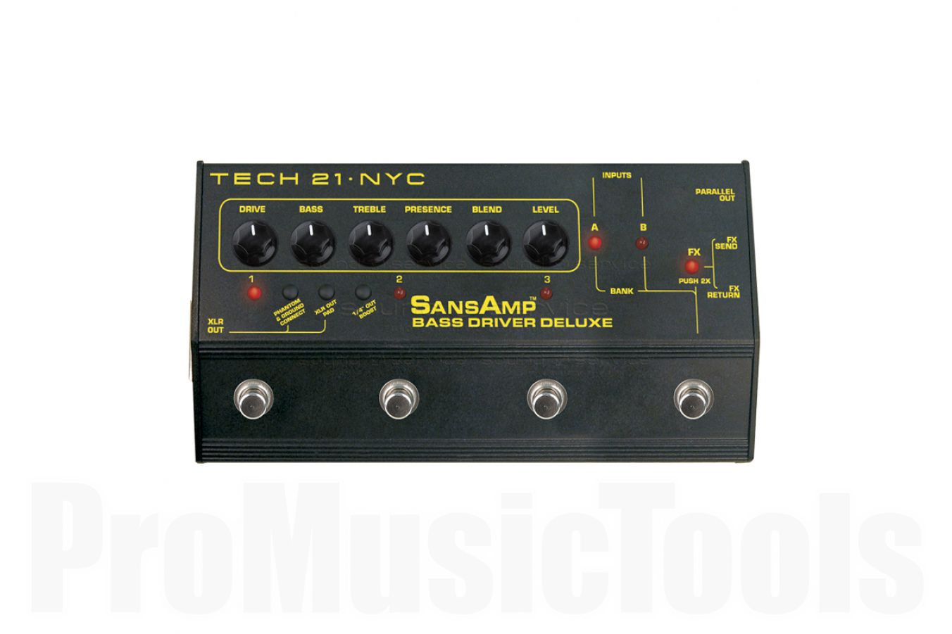Tech 21 USA SansAmp Bass Driver D.I. Deluxe