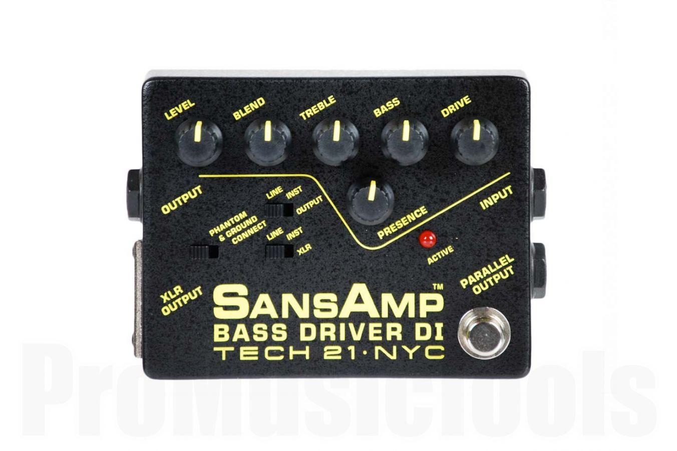 Tech 21 USA SansAmp Bass Driver D.I.