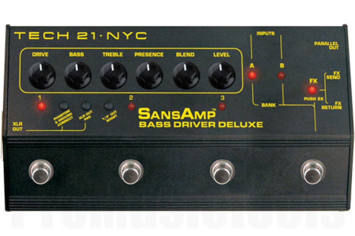 Tech 21 USA SansAmp Bass Driver D.I. Deluxe - b-stock