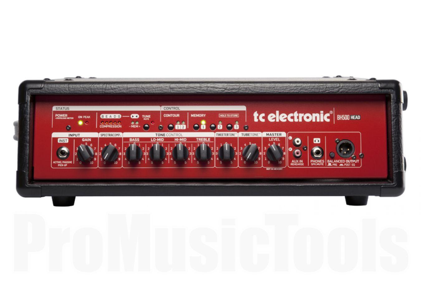 TC Electronic BH500 bass amp