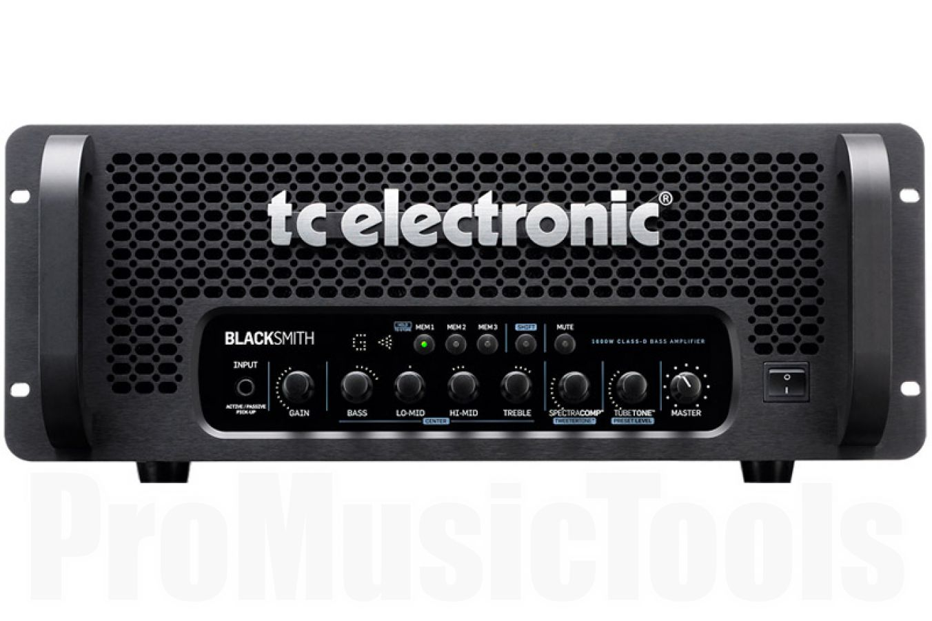 TC Electronic Blacksmith 1600W bass amp - demo