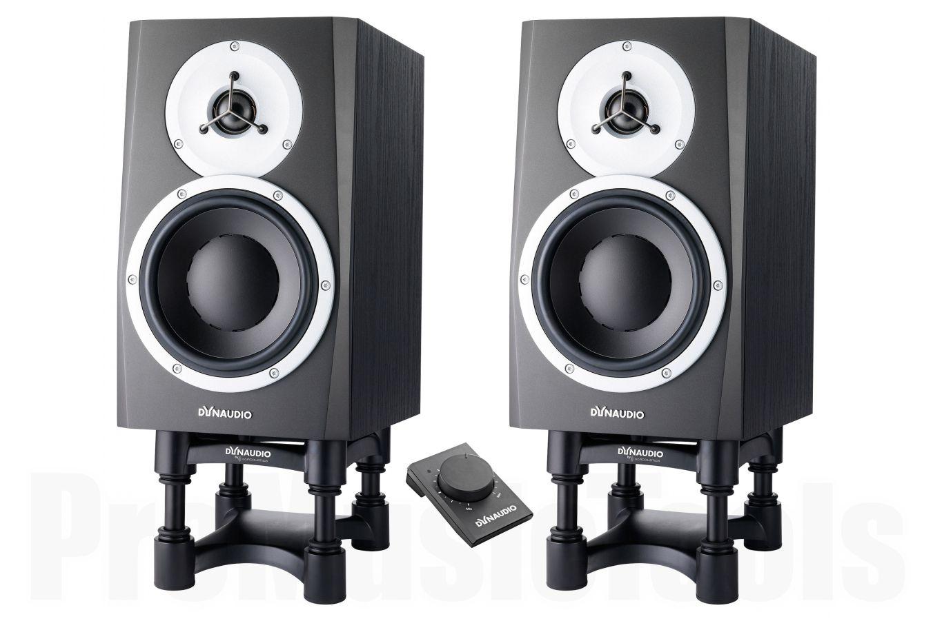 Dynaudio BM5 mkIII - PAIR BUNDLE SET (incl. 2x ISO-L8R155 & Dynaudio Volume Box)