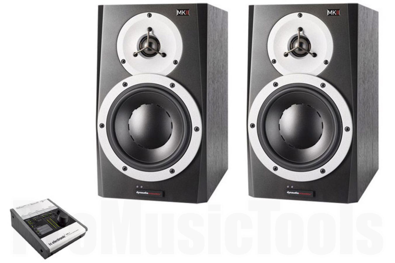Dynaudio BM5A mkII x2 BUNDLE SET - incl. TC Electronic BMC-2