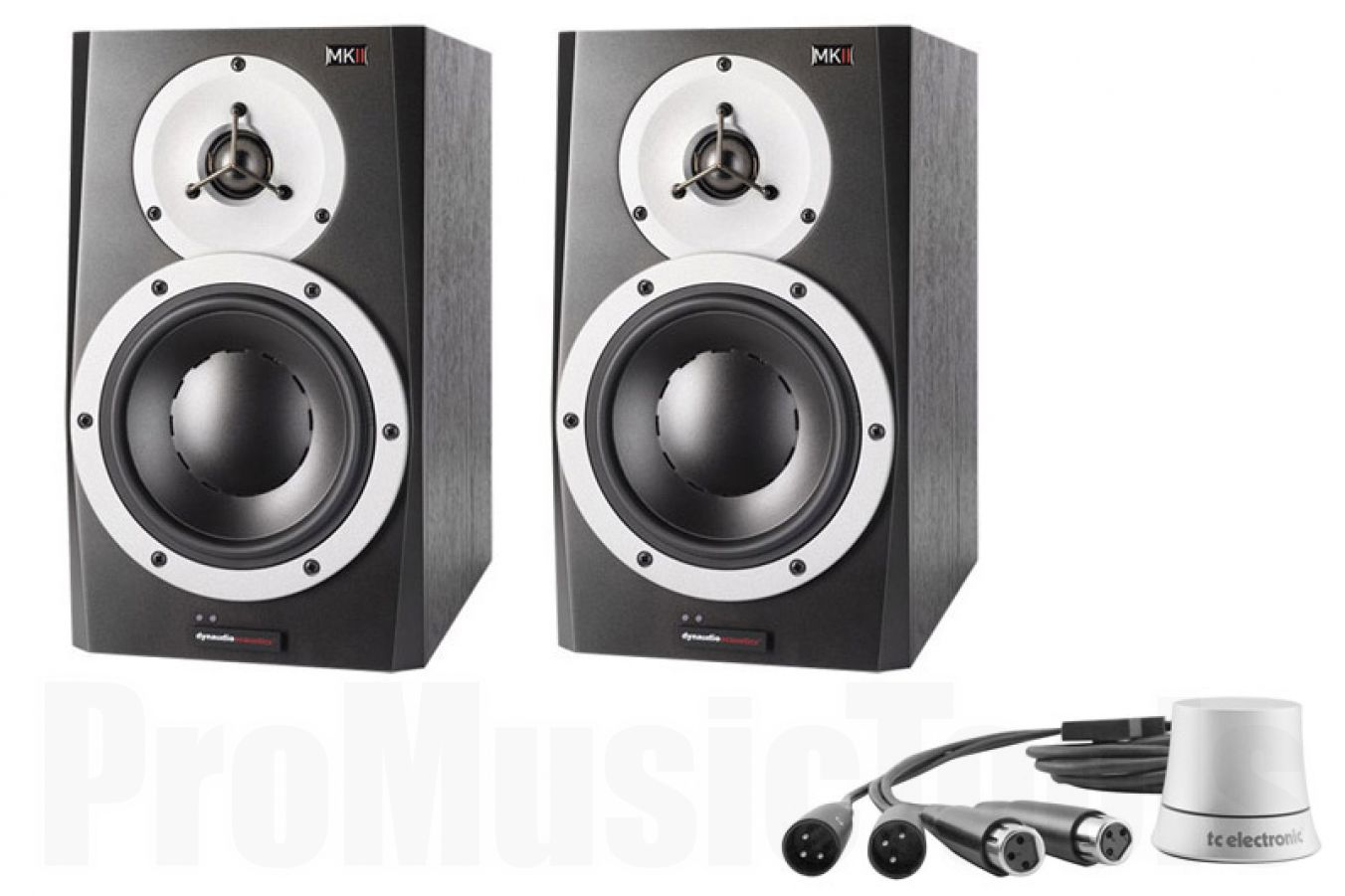 Dynaudio BM5A mkII x2 BUNDLE SET - incl. TC Electronic Level Pilot