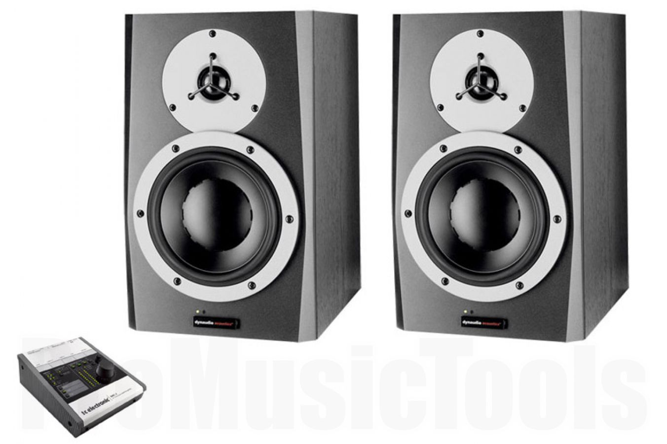 Dynaudio BM6A mkII x2 BUNDLE SET - incl. TC Electronic BMC-2