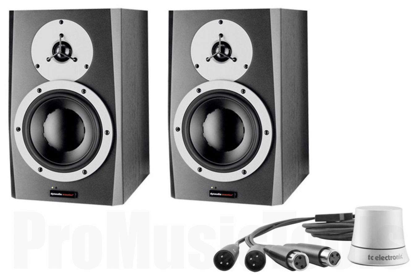 Dynaudio BM6A mkII x2 BUNDLE SET - incl. TC Electronic Level Pilot