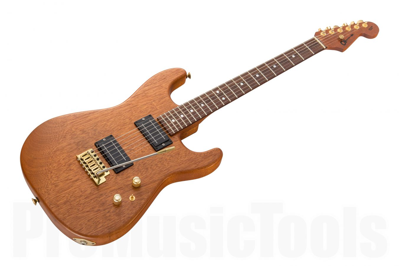 Charvel USA Custom Shop Strat HH Trem - Natural Mahogany (body & neck)