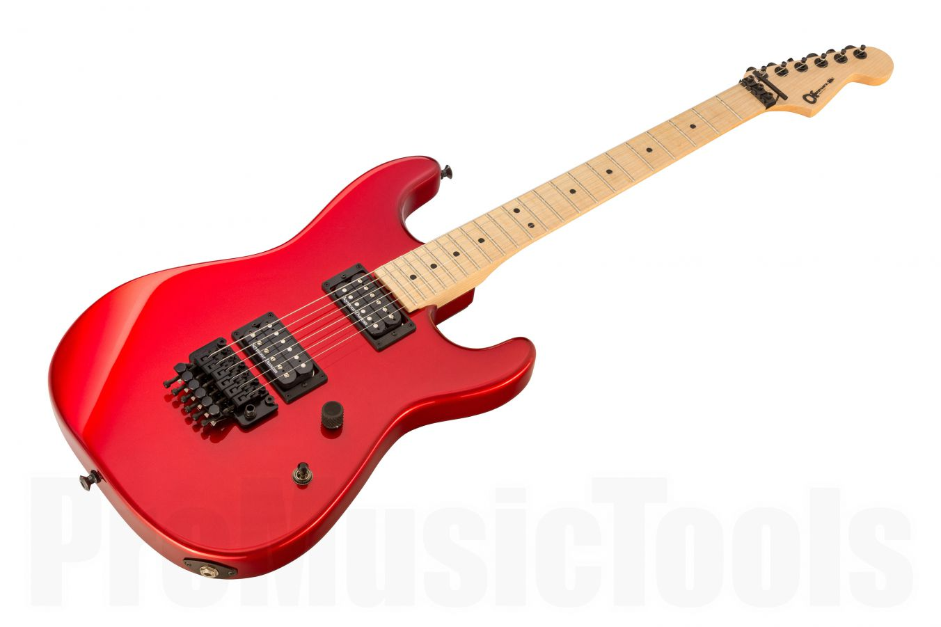 Charvel USA San Dimas Style I HH FR Strat - Candy Red