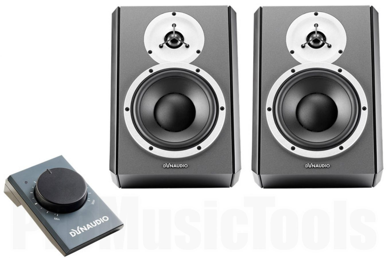 Dynaudio DBM50 x2 BUNDLE SET - incl. DBM50 Volume Control Unit