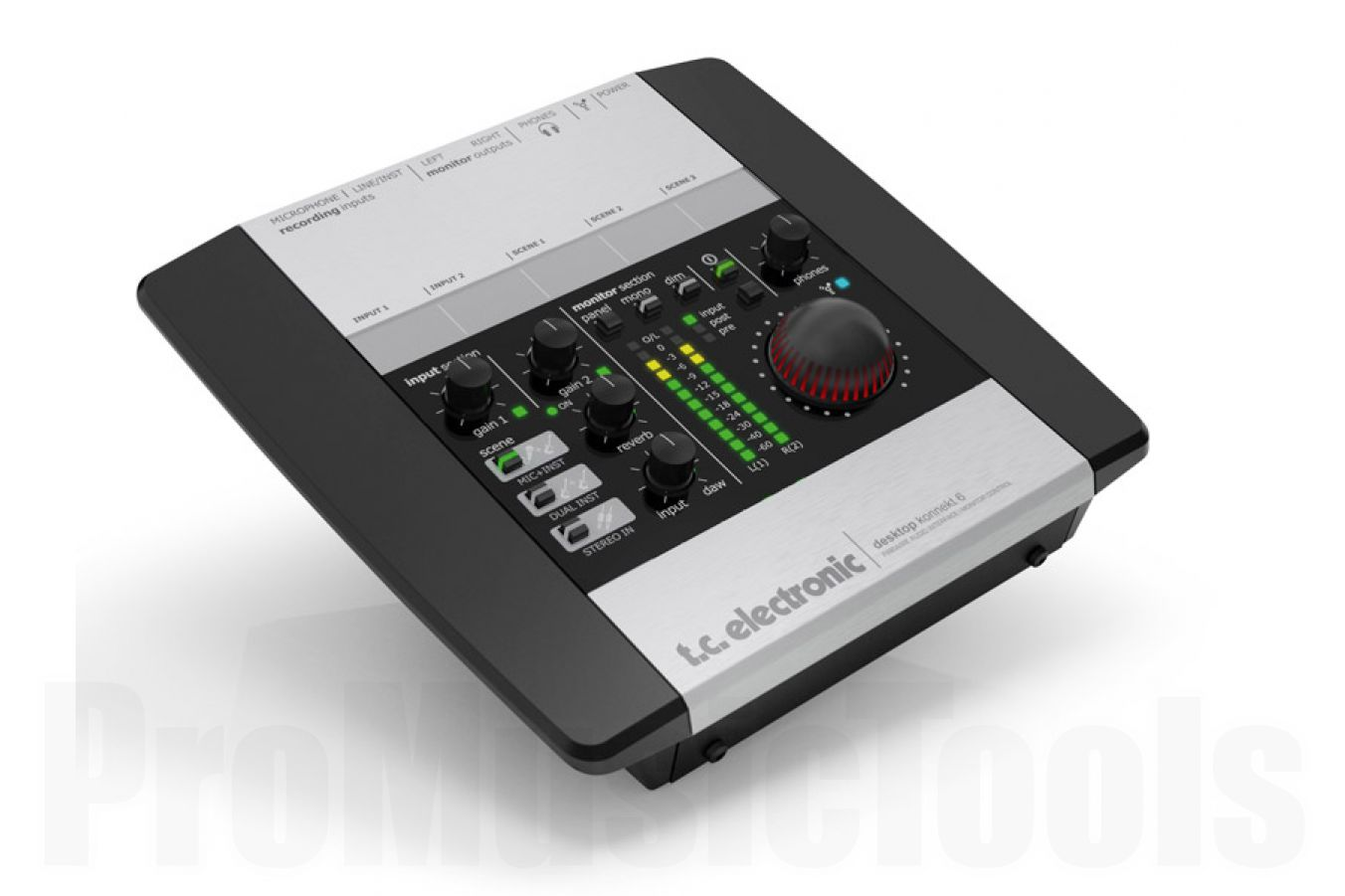 TC Electronic Desktop Konnekt 6 FireWire Audio Interface - b-stock - Restposten