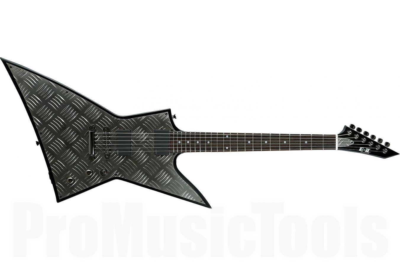ESP E-II EX Diamond Plate BK - Black