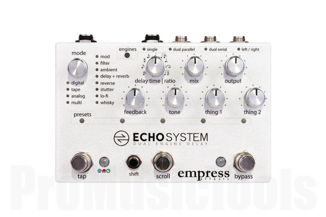 Empress Effects Echosystem - b-stock (1x opened box)