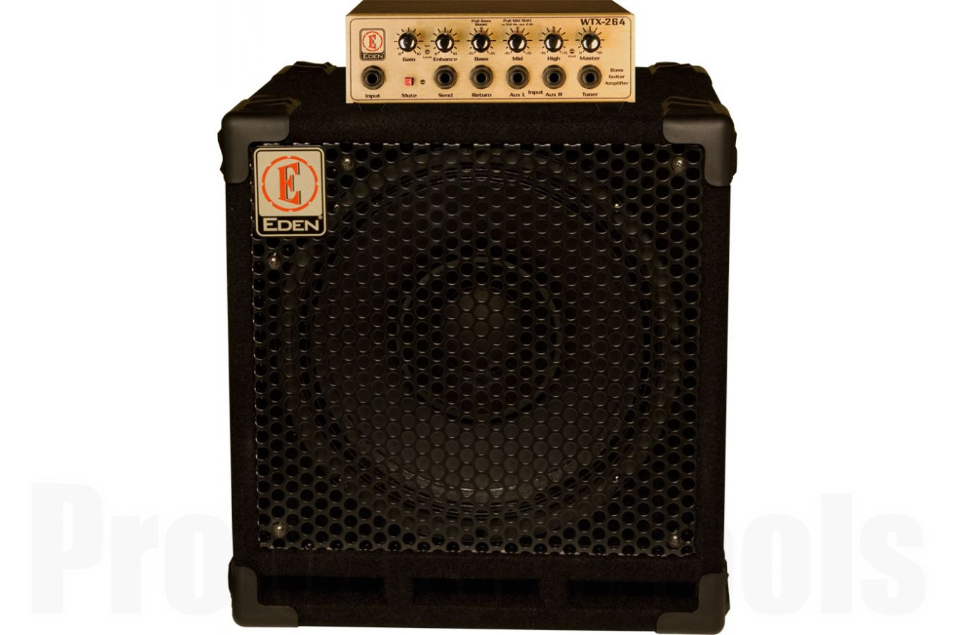 Eden EGRW1264 bass bundle package: WTX264 head, EX112 cabinet & gigbag