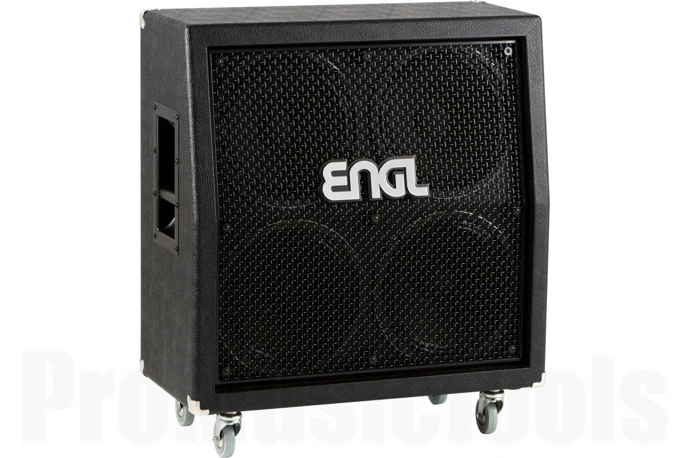 Engl Pro Cabinet 4x12 Slanted V30 Black E412VSB