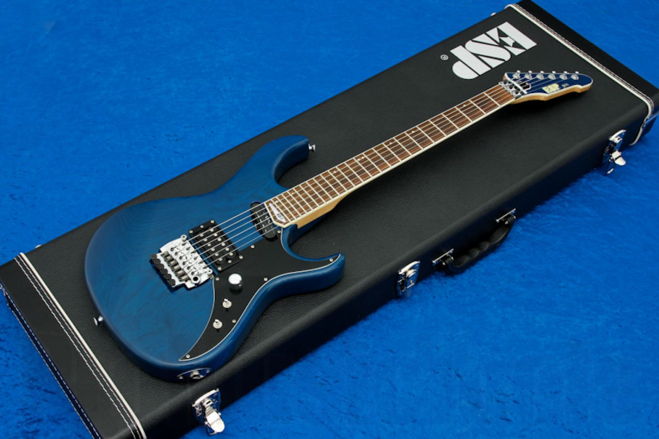 ESP 901 Series Custom Maverick STB - See Thru Blue
