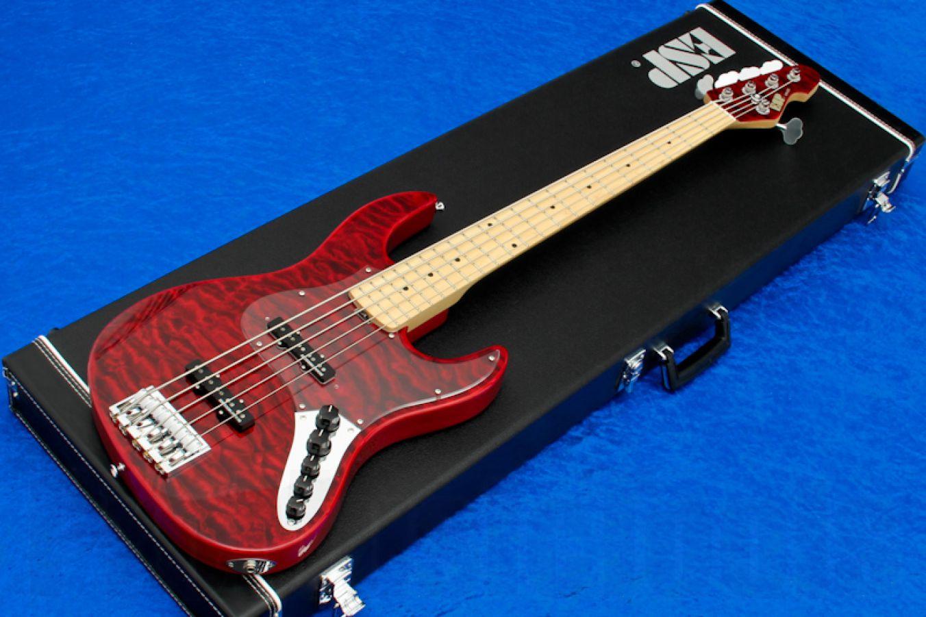 ESP Amaze-DLX 5 STBC - See Thru Black Cherry