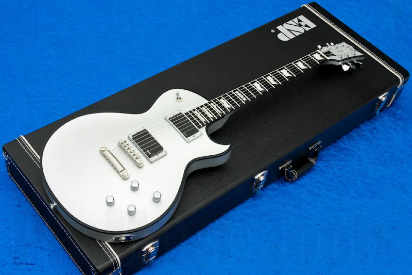 ESP Eclipse-I CTM BB (PL) EMG SS - Silver Satin - Paul Landers - demo