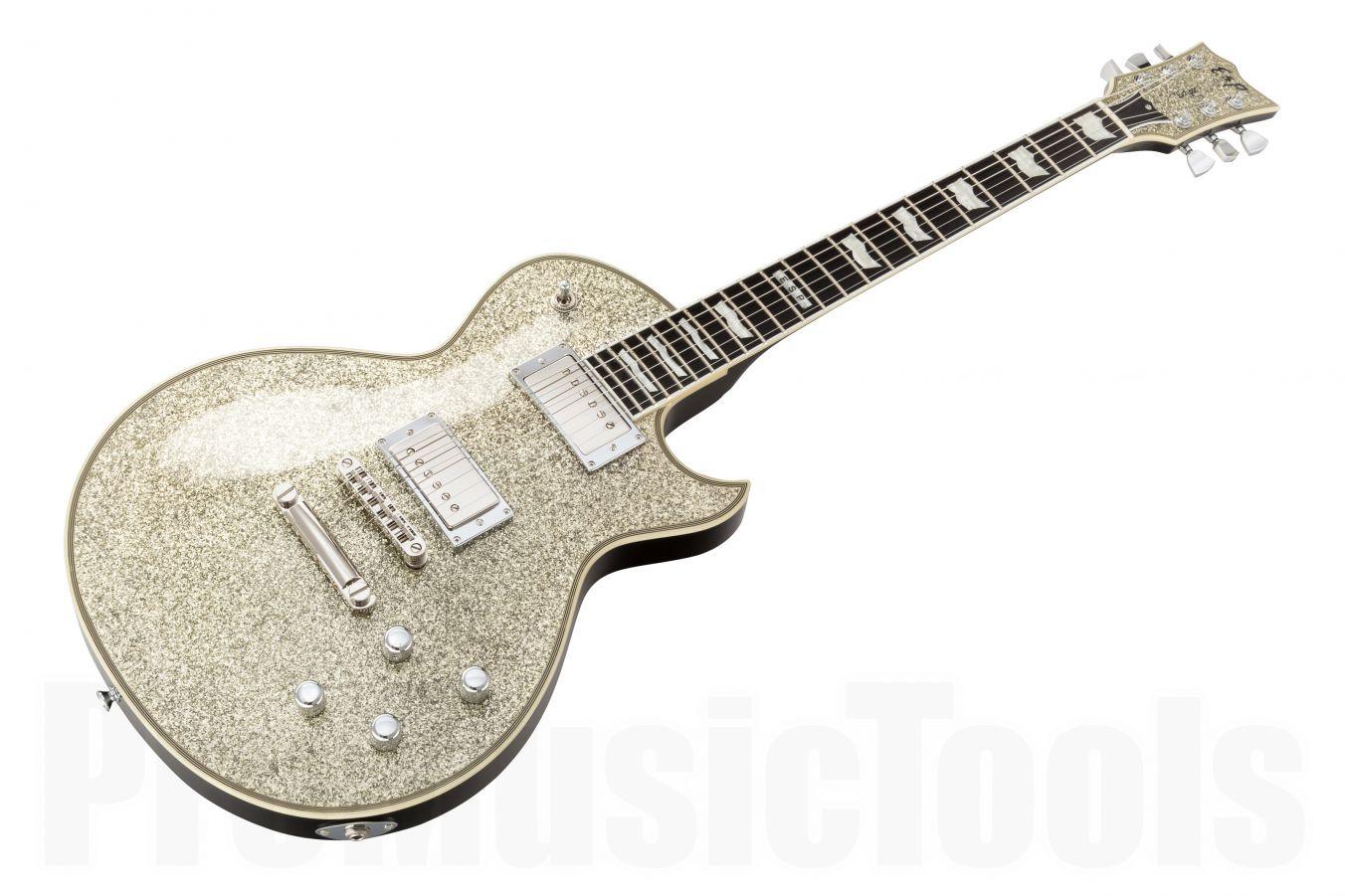 ESP Eclipse-I CTM Duncan SSP - Silver Sparkle