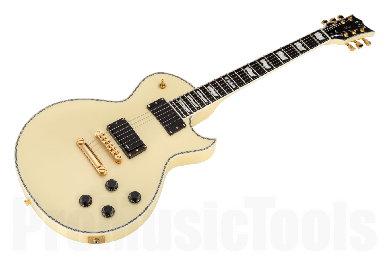 ESP Eclipse-I CTM FT EMG VW Special Edition - Vintage White - Full Thickness