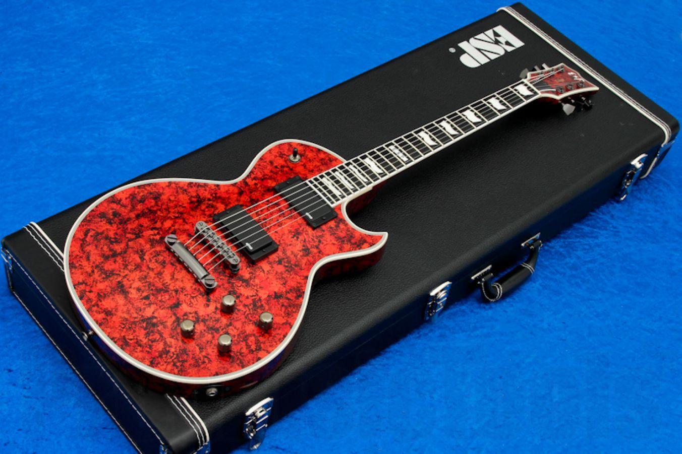 ESP Eclipse-I CTM EMG VRED - Volcano Red