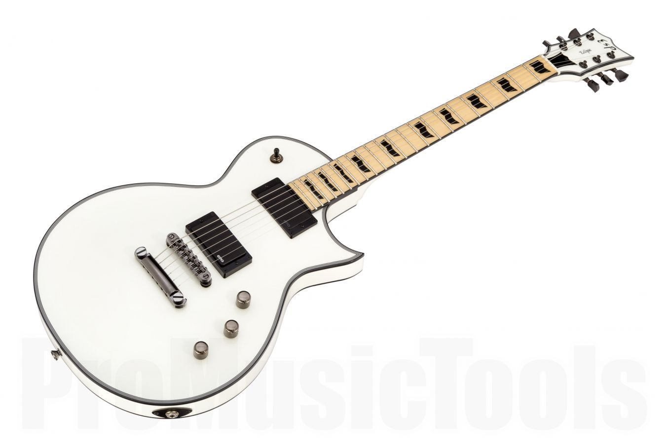 ESP Eclipse-II USA DB/M Maple EMG SW - Snow White