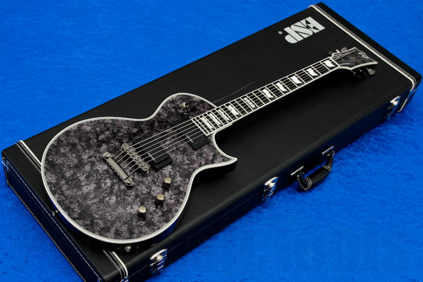 ESP Eclipse-II USA MYBK - Mystic Black