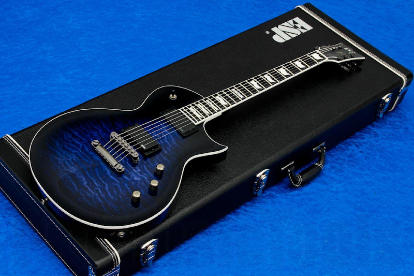 ESP Eclipse-II USA QM EMG RDB - Reindeer Blue