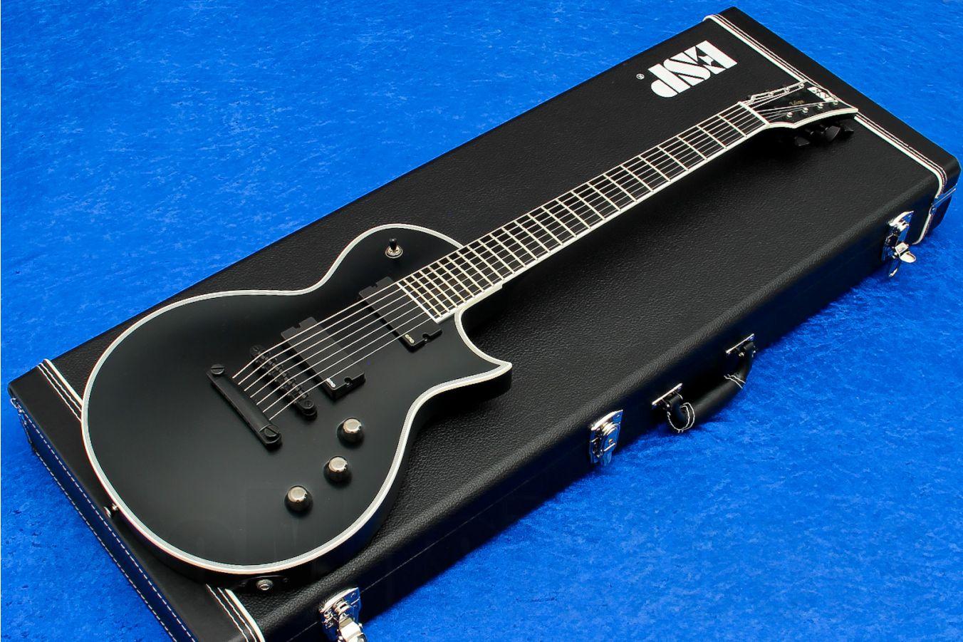 ESP Eclipse 24-7 USA BLKS - Black Satin