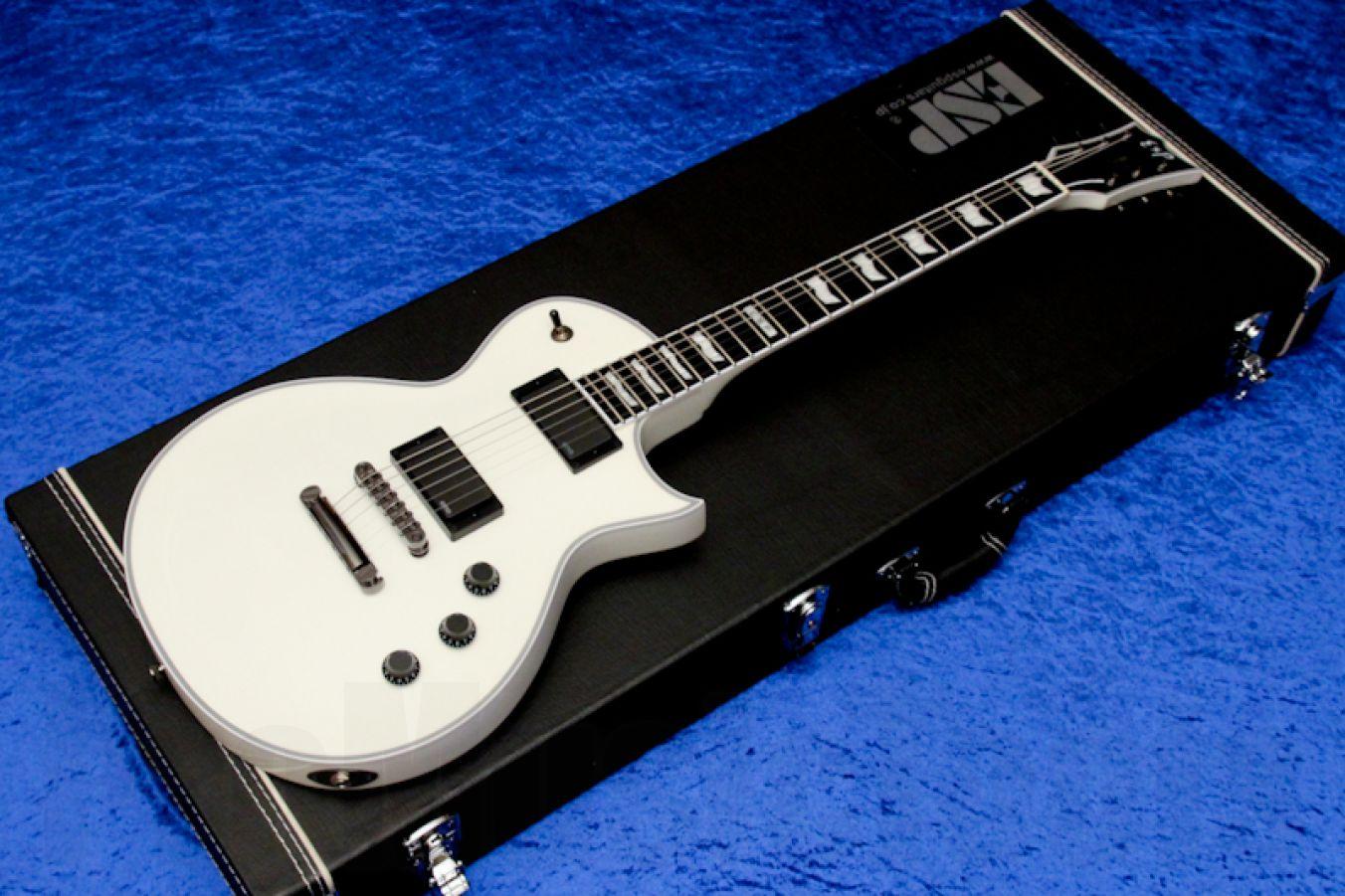 ESP Eclipse-II USA EMG SW - Snow White
