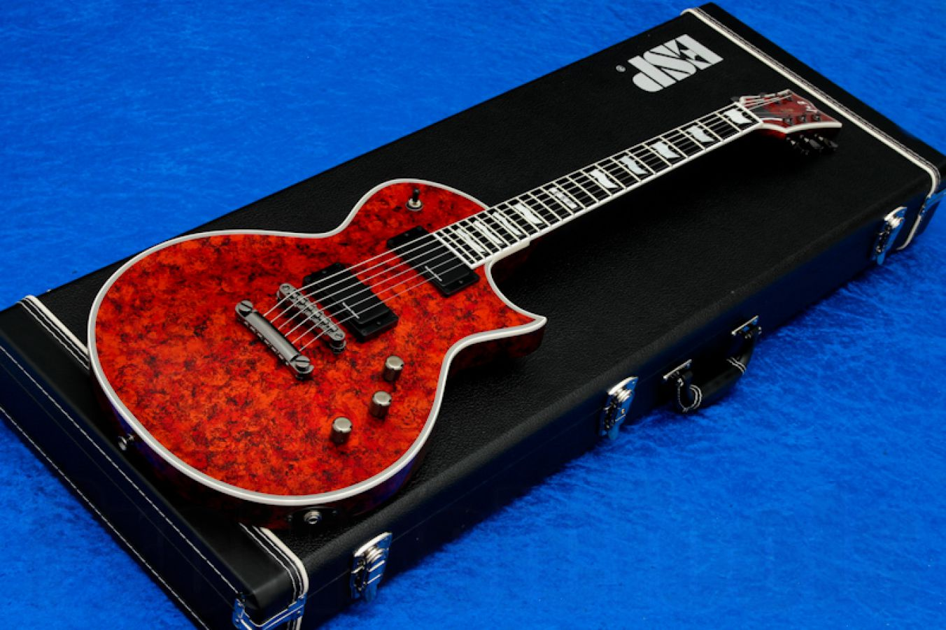 ESP Eclipse-II USA Duncan VRED - Volcano Red