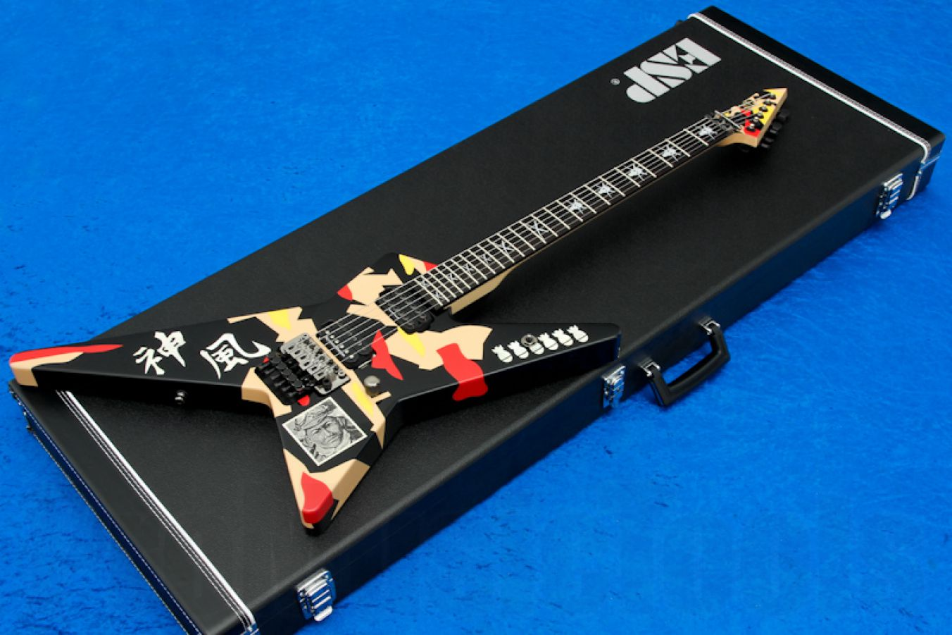 ESP George Lynch Kamikaze-Star STD