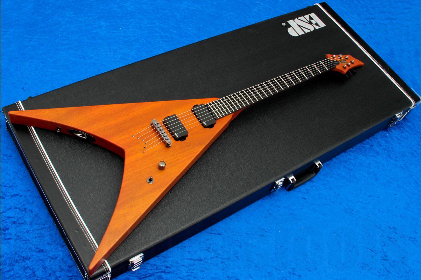 ESP HEX-6 NTL - Natural Mahogany