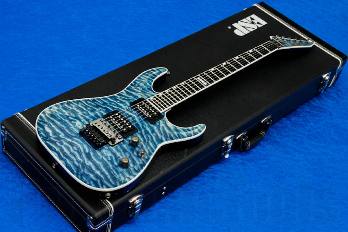 ESP Horizon FR-II Faded Blue - PMT Special Edition