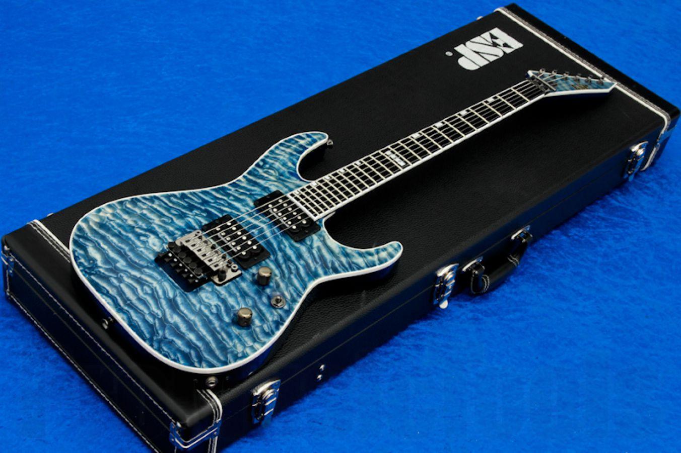 ESP Horizon FR-II Faded Blue - PMT Special Edition