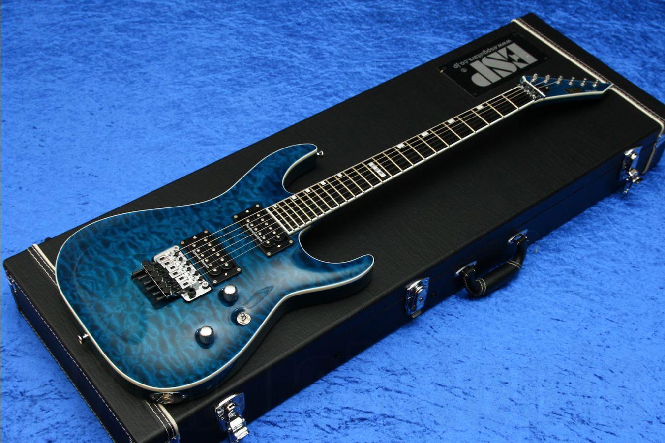 ESP Horizon FR-II BKAQ - Black Aqua