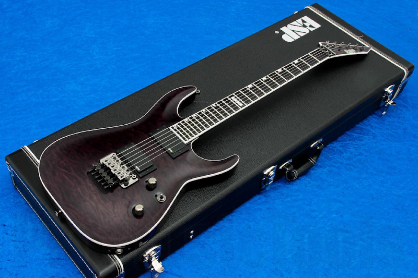 ESP Horizon FR-II EMG STBK - See Thru Black