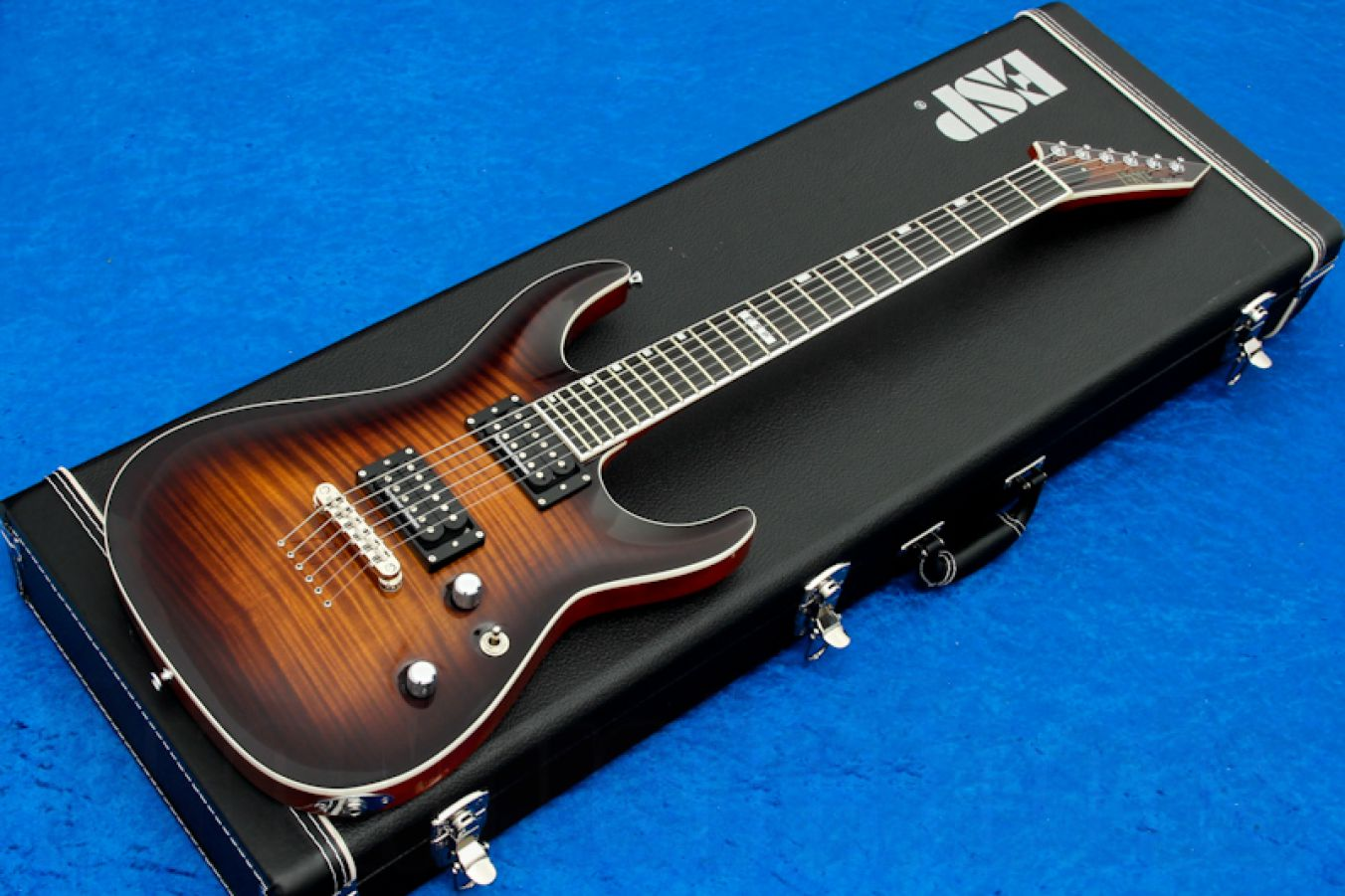 ESP Horizon NT-II FM SD DBSB - Dark Brown Sunburst